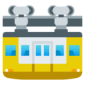 Suspension Railway on EmojiOne 4.0