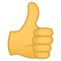 Thumbs Up on EmojiOne 4.0