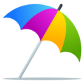 Umbrella on Ground on EmojiOne 4.0