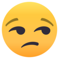 Unamused Face on EmojiOne 4.0