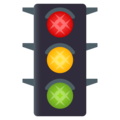 Vertical Traffic Light on EmojiOne 4.0