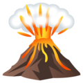 Volcano on EmojiOne 4.0
