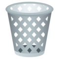 Wastebasket on EmojiOne 4.0