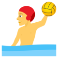 Person Playing Water Polo on EmojiOne 4.0