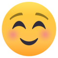 Smiling Face on EmojiOne 4.0