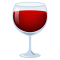 Wine Glass on EmojiOne 4.0