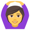 Woman Gesturing OK on EmojiOne 4.0