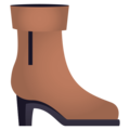 Woman's Boot on EmojiOne 4.0