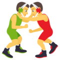 People Wrestling on EmojiOne 4.0