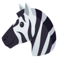 Zebra on EmojiOne 4.0