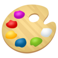 Artist Palette on EmojiOne 4.5