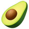 Avocado on EmojiOne 4.5