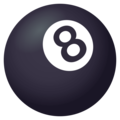 Pool 8 Ball on JoyPixels 4.5