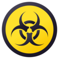 Biohazard on JoyPixels 4.5