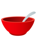 Bowl With Spoon on EmojiOne 4.5