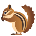Chipmunk on EmojiOne 4.5