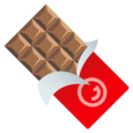 Chocolate Bar on JoyPixels 4.5