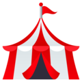 Circus Tent on EmojiOne 4.5