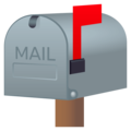 Closed Mailbox With Raised Flag on EmojiOne 4.5