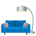 Couch and Lamp on EmojiOne 4.5