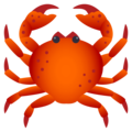 Crab on JoyPixels 4.5