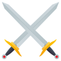 Crossed Swords on EmojiOne 4.5