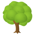 Deciduous Tree on EmojiOne 4.5