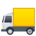 Delivery Truck on JoyPixels 4.5