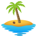 Desert Island on JoyPixels 4.5