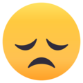 Disappointed Face on EmojiOne 4.5