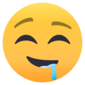 Drooling Face on EmojiOne 4.5