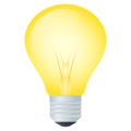Light Bulb on EmojiOne 4.5