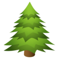 Evergreen Tree on JoyPixels 4.5