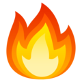 Fire on EmojiOne 4.5