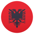 Flag: Albania on EmojiOne 4.5