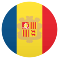 Flag: Andorra on EmojiOne 4.5