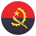 Flag: Angola on EmojiOne 4.5