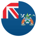 Flag: Ascension Island on JoyPixels 4.5