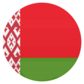Flag: Belarus on EmojiOne 4.5