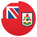 Flag: Bermuda on EmojiOne 4.5