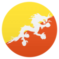 Flag: Bhutan on EmojiOne 4.5