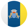 Flag: Canary Islands on JoyPixels 4.5