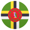 Flag: Dominica on EmojiOne 4.5