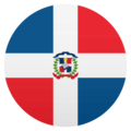 Flag: Dominican Republic on JoyPixels 4.5