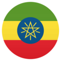 Flag: Ethiopia on EmojiOne 4.5
