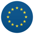 Flag: European Union on JoyPixels 4.5