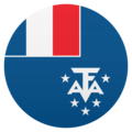 Flag: French Southern Territories on JoyPixels 4.5