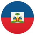 Flag: Haiti on EmojiOne 4.5