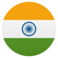 Flag: India on EmojiOne 4.5