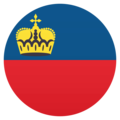 Flag: Liechtenstein on EmojiOne 4.5
